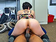 White girl takes a black load! image 5