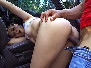 Naughty Sierra Nicole Fucks The Carwash man image 3